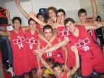 U19 squadra festeggiamenti